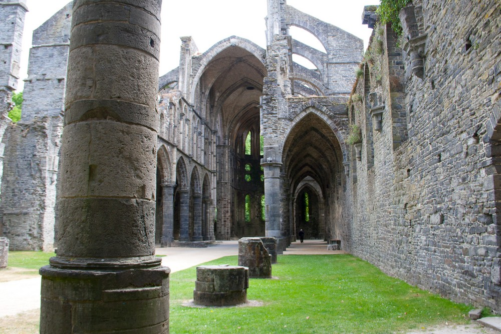 Bruxelles, Villers Abbey, Waterloo
