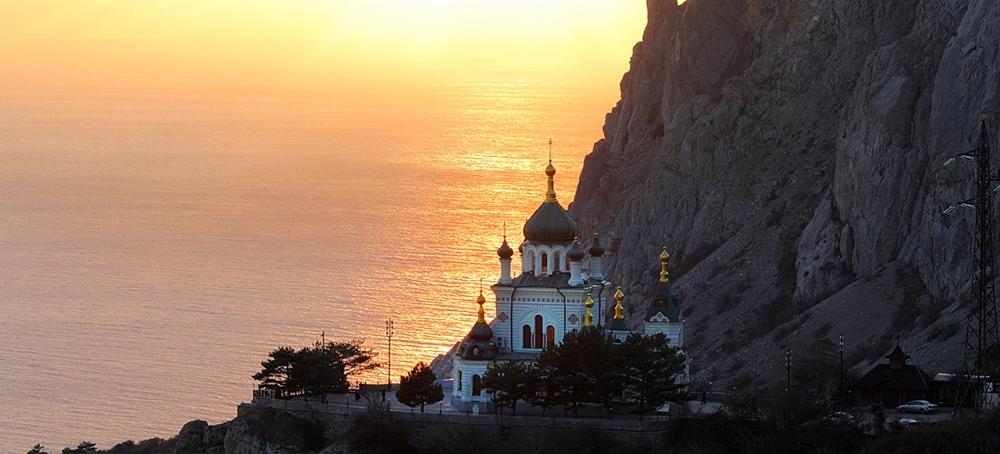 Достопримечательности Крыма. Форосская церковь