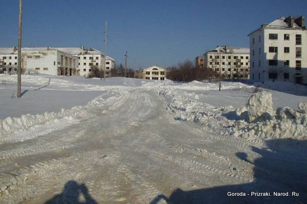 Заброшенные города России