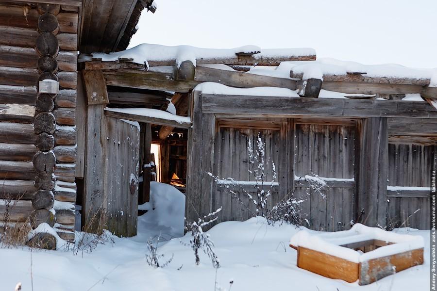 Ужгинское - заброшенная деревня