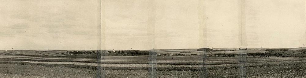 Бородинское поле в 1902 году