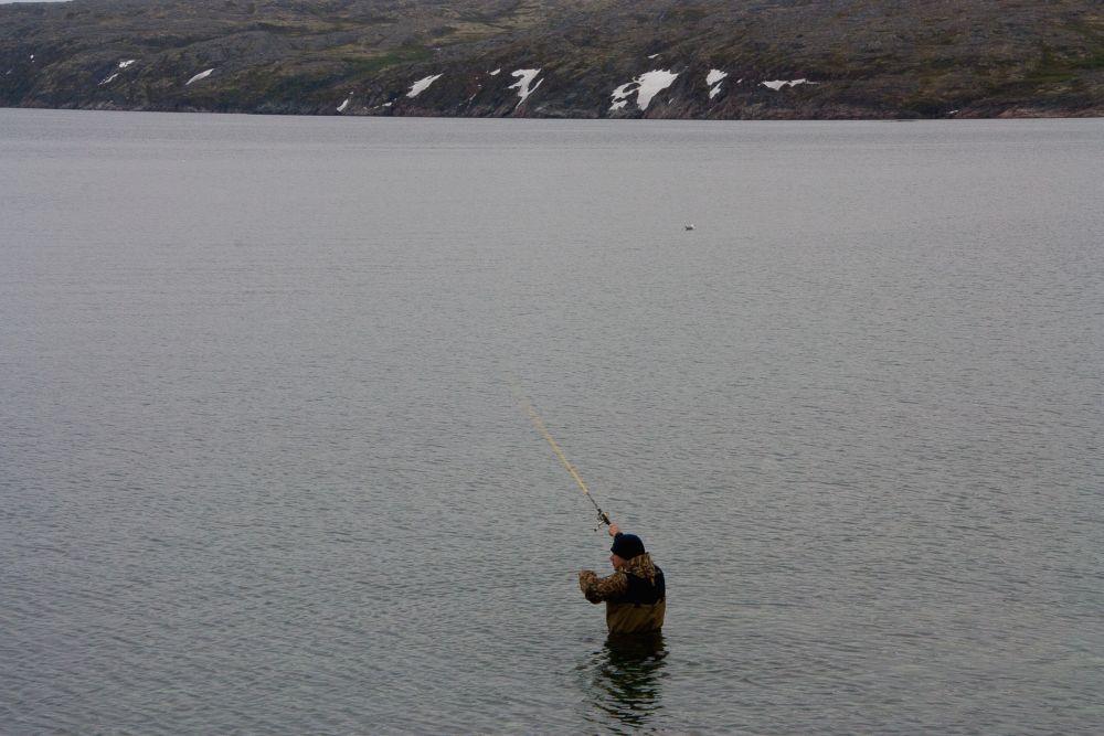 рыбалка на полуострове рыбачий 2016